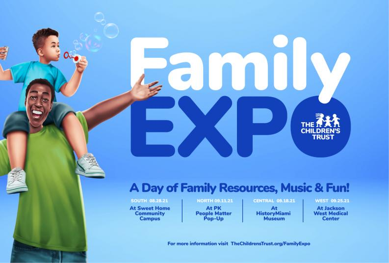 2021 Family Expo Save the Date