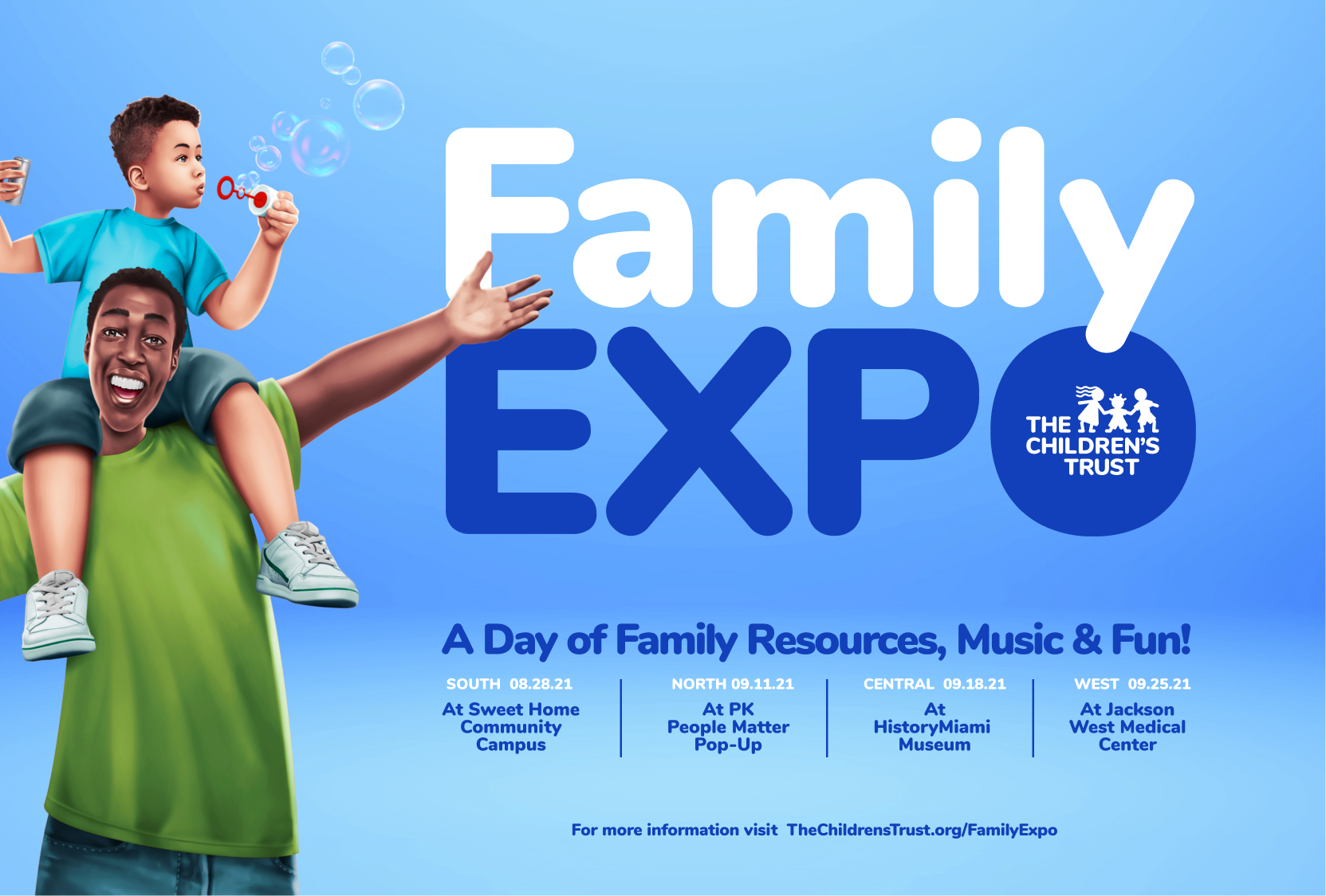 The Family Expo returns with a series of Pop-Up style events in August and September.