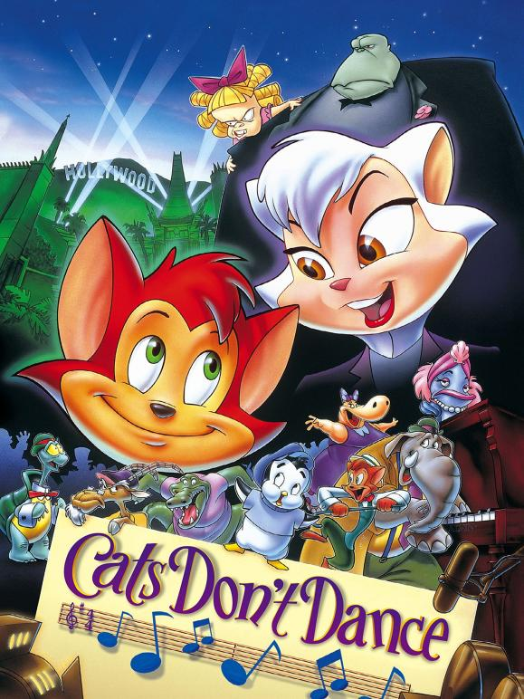 Movie poster: Cats Don't Dance