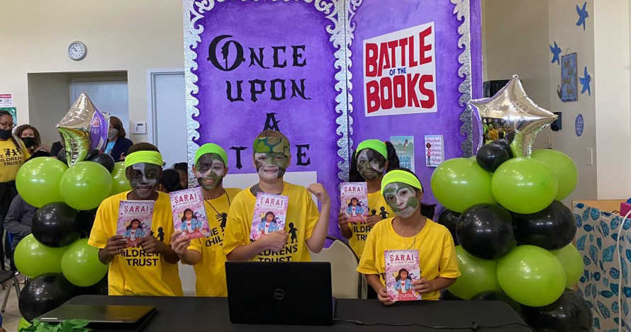 Over 900 children participated in the summer Battle of the Books.