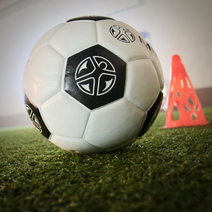 Photo of soccer ball.