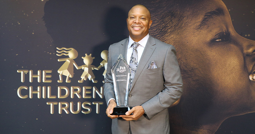 Morris Copeland was named David Lawrence Jr. Champion for Children honoree in 2020.