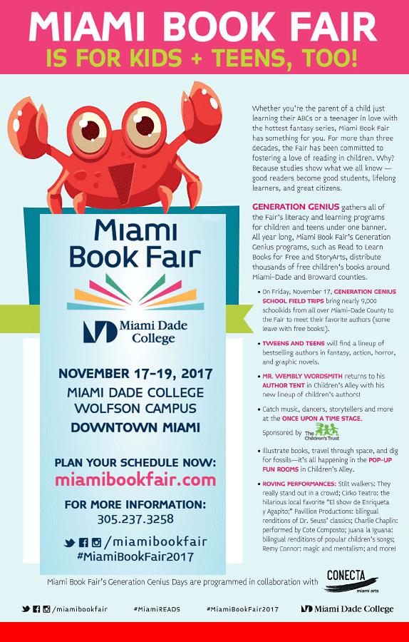 Miami Book Fair's Children's Alley