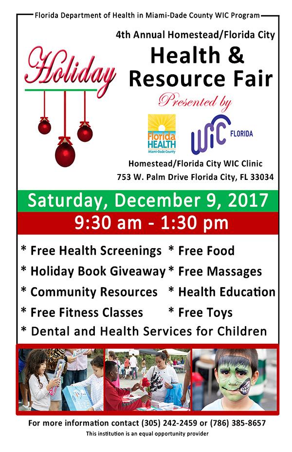 4th Annual Homestead/Florida City Health & Resource Fair