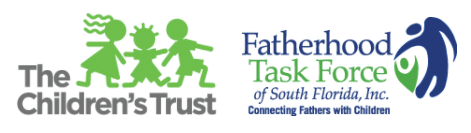 Logos: The Children's Trust, The Fatherhood Taskforce of South Florida