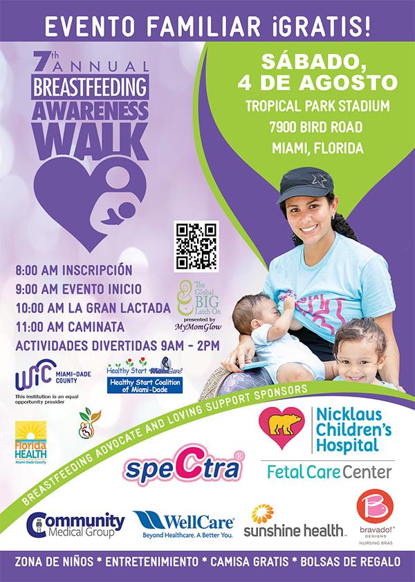 EVENTO FAMILIAR ¡GRATIS! 8:00 AM INSCRIPCIÓN 9:00 AM EVENTO COMIENZA 10:00 AM LA GRAN LACTADA 11:00 AM CAMINATA ACTIVIDADES DIVERTIDAS 9AM - 2PM ¡GRATIS! INSCRÍBASE AHORA 7thannualbfwalk.eventbrite.com Entretenimiento, Zona de niños, Rifas, Clases
