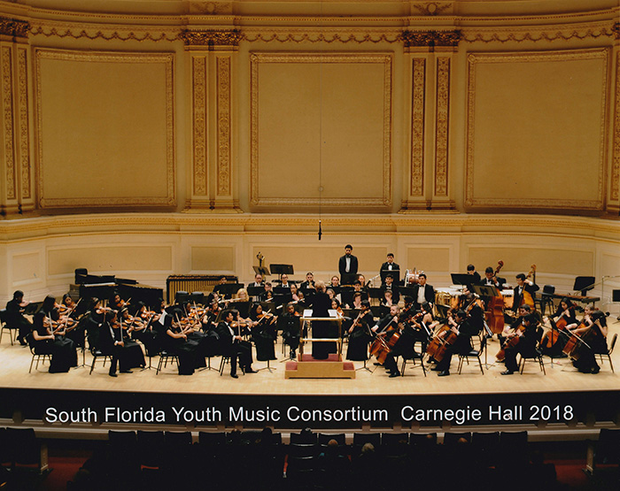 Photo of South Florida Music Consortium at Carnegie Hall 2018