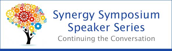 Synergy Symposium Speaker Series Header