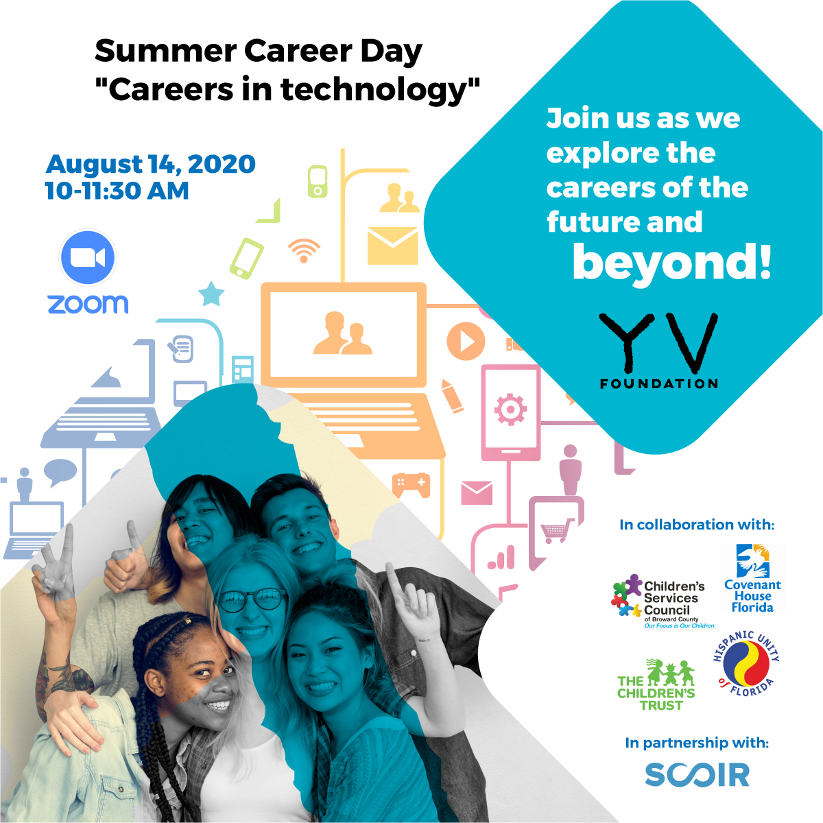 Join us as we explore the careers of the future and beyond! Click here to register.