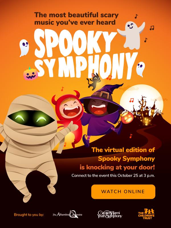 2020 Spooky Symphony Flyer