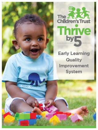 Cover of Early Learning Quality Improvement System brochure.