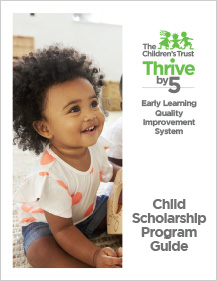 Thrive by 5 Scholarship Guide Cover