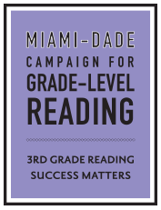 Miami-Dade Campaign for Grade-Level Reading Logo