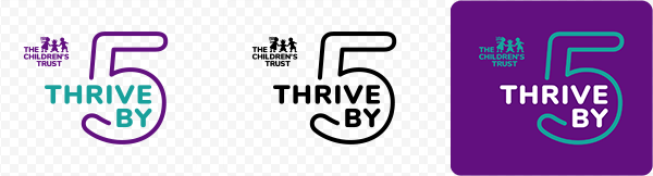 Thrive by 5 Logos - 3 versions