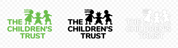 The Children's Trust Logo - 3 versions