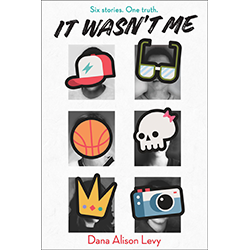 It Wasn't Me  Se Dana Alison levy ki ekri liv sa
