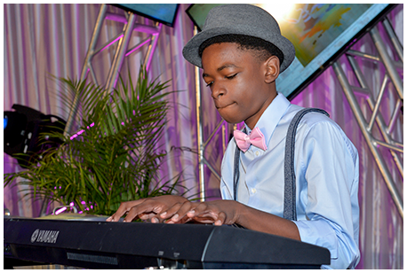 Jeremiel Sylne landed a spot on the 2017 Champions for Children entertainment lineup after his performance at this year's YTBD finals.