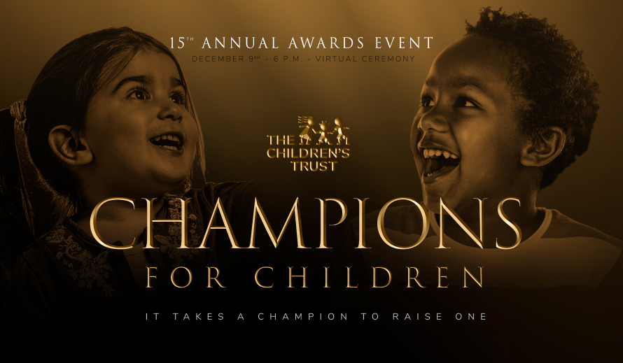 The Champions for Children's Awards Ceremony is Dec. 9.