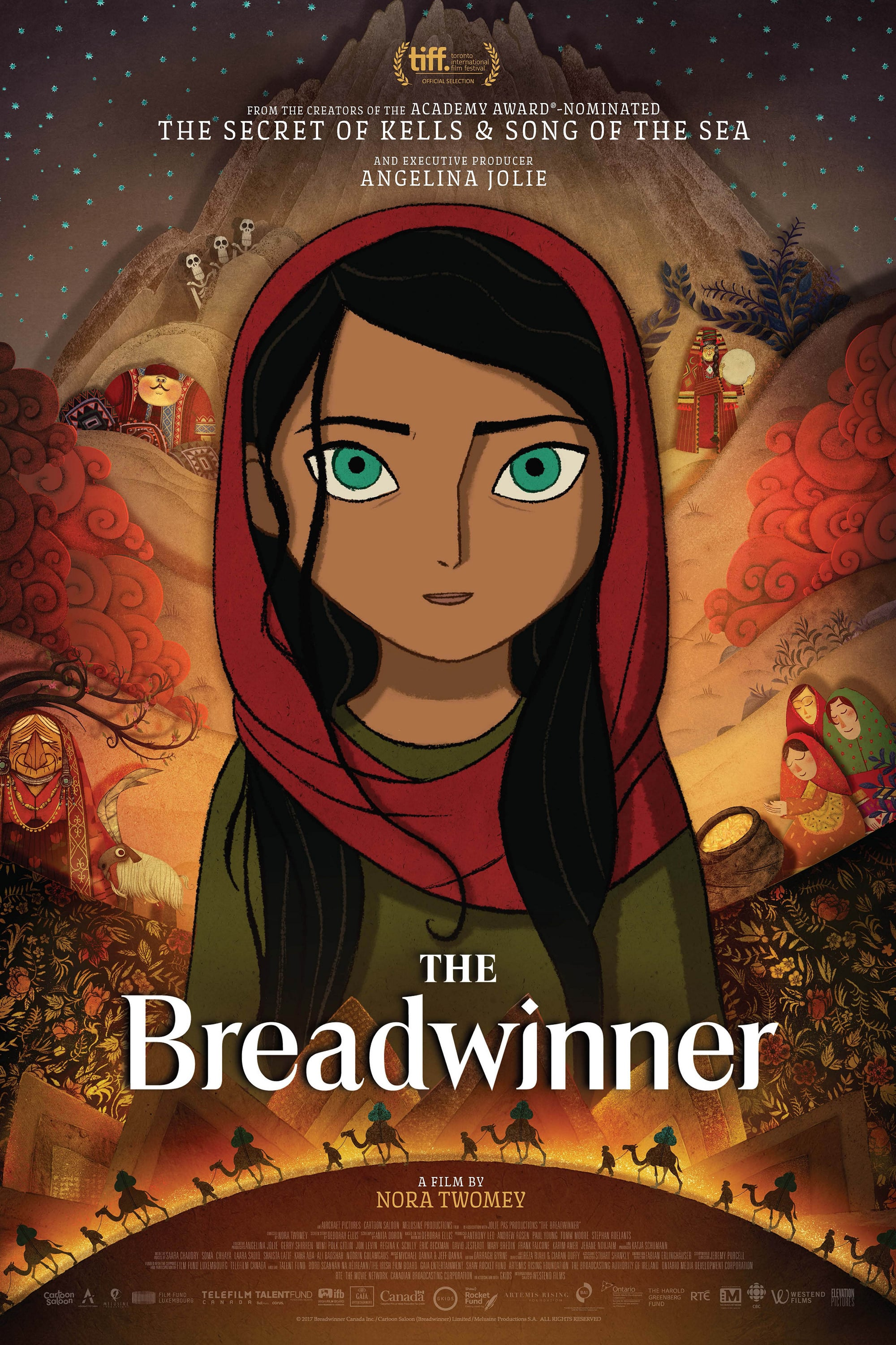 Movie poster of The Breadwinner