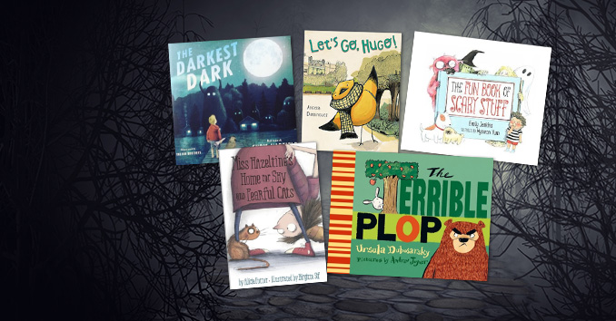 Covers of children's books reviewed for the month of October 2018