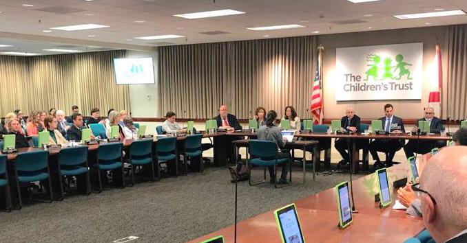 Meeting of the Children's Trust Board