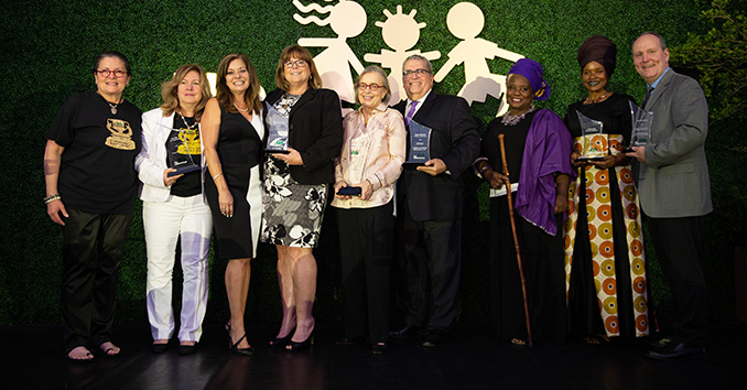 Photo of Champions for Children Awards Ceremony Honorees