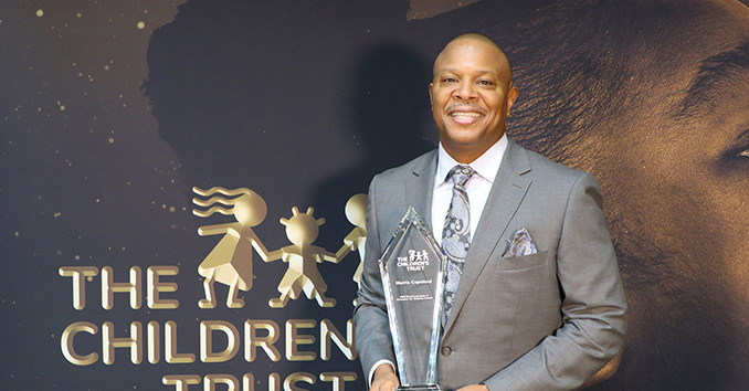 2020 Champion for Children Honoree Morris Copeland