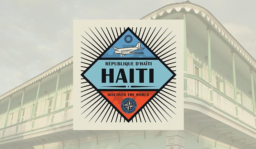 République D'Haiti Discover the World Logo