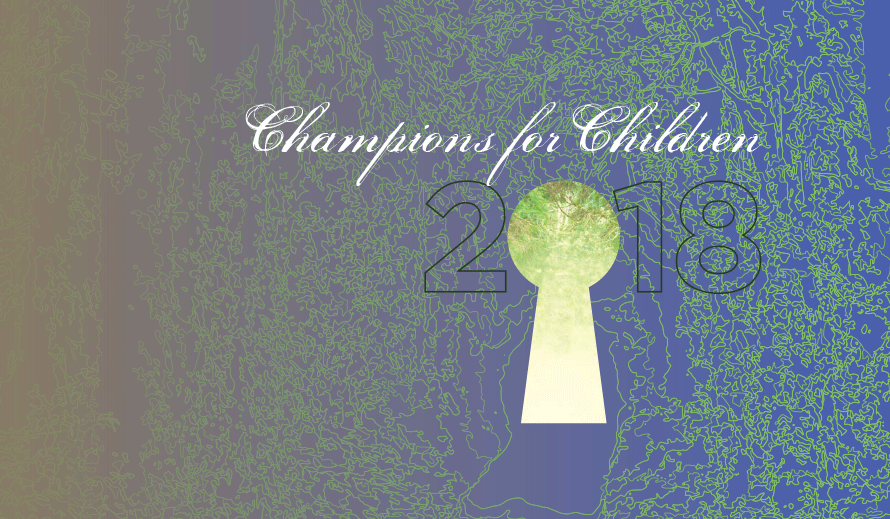 Champions for Children Event Graphic