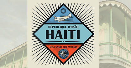République D'Haiti Discover the World Logo