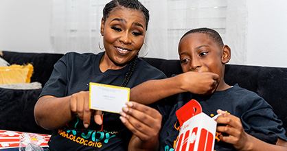 Box Joy: Getting Families Together