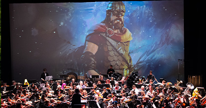 The Spooky Symphony will take place virtually for the first time ever.