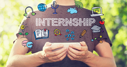 There are plenty of choices available in the Summer Internship Program.